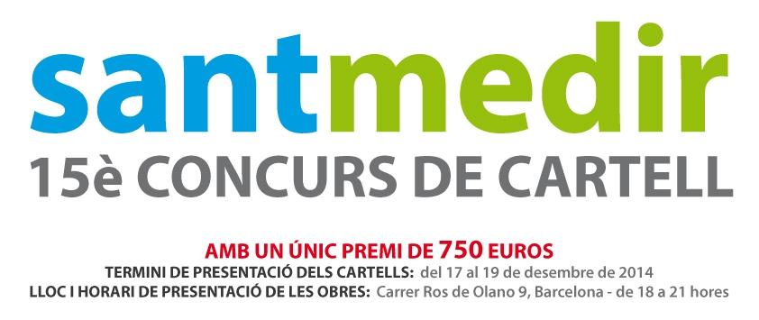 Concurs de cartell Sant Medir 2015