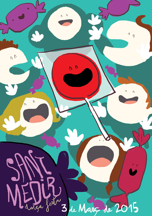 Sant Medir 2015 poster